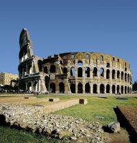 Coliseo ou Anfiteatro Flavio (Alto Imperio). Iberfoto. Photoaisa.