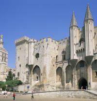 Aita Santuen jauregia. Avignon, Frantzia. Steve Vidler/Iberfoto. Photoaisa.