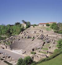 Roman theatre of Lugdunum. Lyon, France. Photoshot. Photoaisa.
