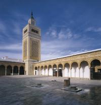 Al-Zaytūnako edo Olibondoaren Meskita Handia (VIII. mendea). Tunis, Tunisia.  Iberfoto. Photoaisa.