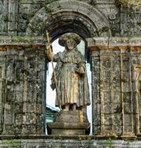 O apóstolo Santiago. Santiago de Compostela. Galicia. Luxian. Fotolia.