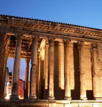 Römischer Tempel von Augustus und Livia. Vienne, Isère, Frankreich. ISABELLE.ESSELIN. Fotolia.