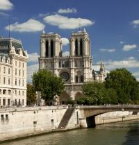 Notre-Dame Cathedral and the river Seine. M.Dalach. Fotolia