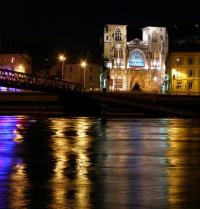 Catedral de Saint- Maurice, en Viena del Delfinado. Vienne, Isère, Francia. Matteo Natale. Fotolia.
