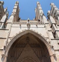 Portal gòtic del Mirador (1389-1401). Catedral de Palma. IRU, SL.