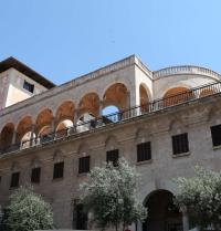 Palacio March (1940-45). Fachada da rúa Conquistador. Palma. IRU, S.L.