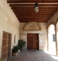 Detalle do claustro. Mosteiro de Santa Maria da Real. Palma. IRU, S.L.